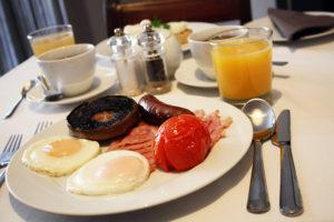 Ogilvy Full English breakfast.