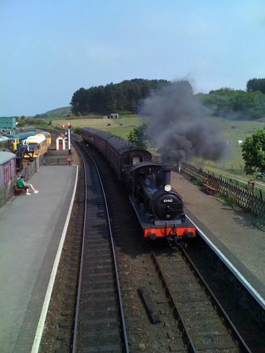 Weybourne Station - the North Norfolk Railway.