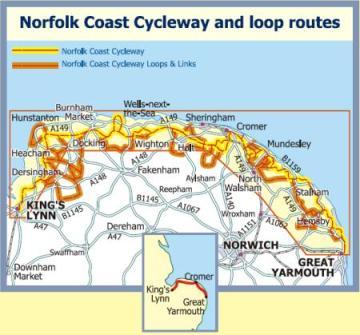 Norfolk Coast Cycleway.