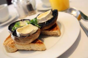Ogilvy House breakfast.